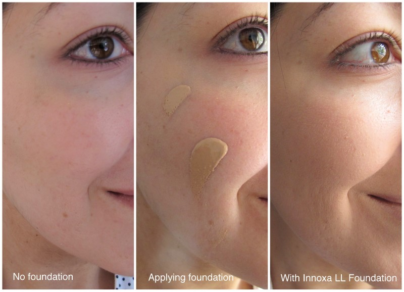 Innoxa Long Lasting Foundation Review Photos