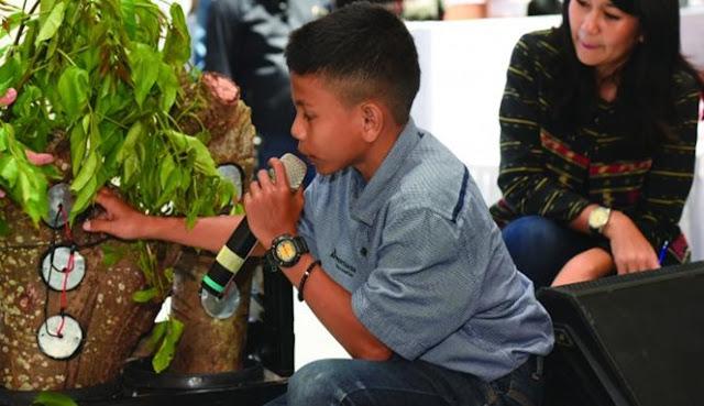 Kisah Naufal Raziq, Enstein-nya Indonesia, Bocah SMP Aceh yang Temukan Energi dari Pohon Kedondong