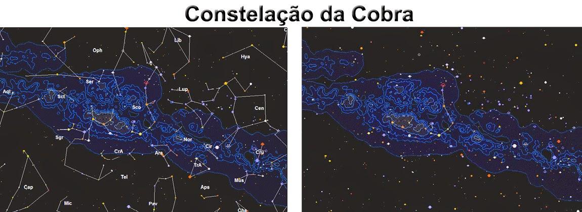 constelação da cobra - mboi
