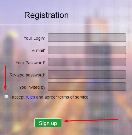 Регистрация в Cleverli 2
