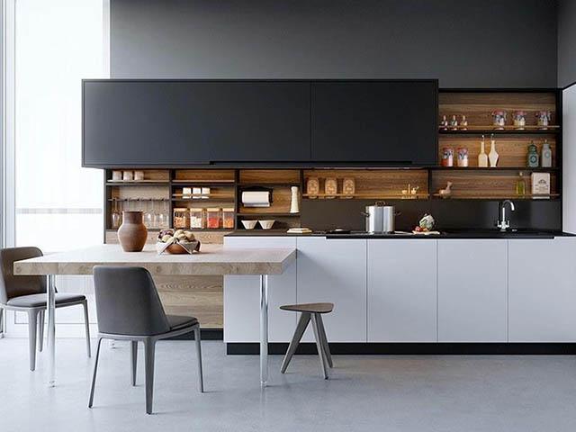 phòng bếp đa năng