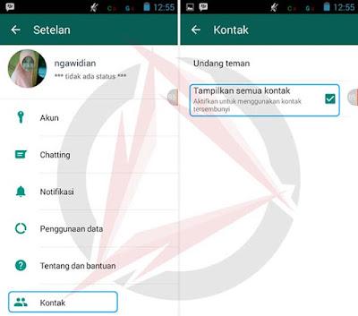 Mengatasi Kontak WhatsApp Yang Hilang