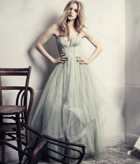 Green Tulle Dress, H&M Conscious Collection