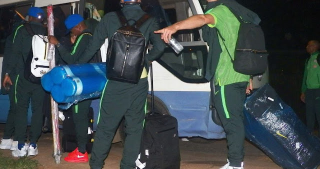bafana bafana in nigeria afcon 2019 qualifier