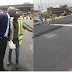 Fashola Pays Surprise Visit To Road Repair Project At Ijora-olopa Lagos (photos)