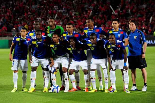 Formación de Ecuador ante Chile, Clasificatorias Brasil 2014, 15 de octubre de 2013
