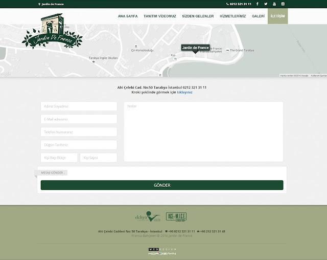 jardin de france contact page
