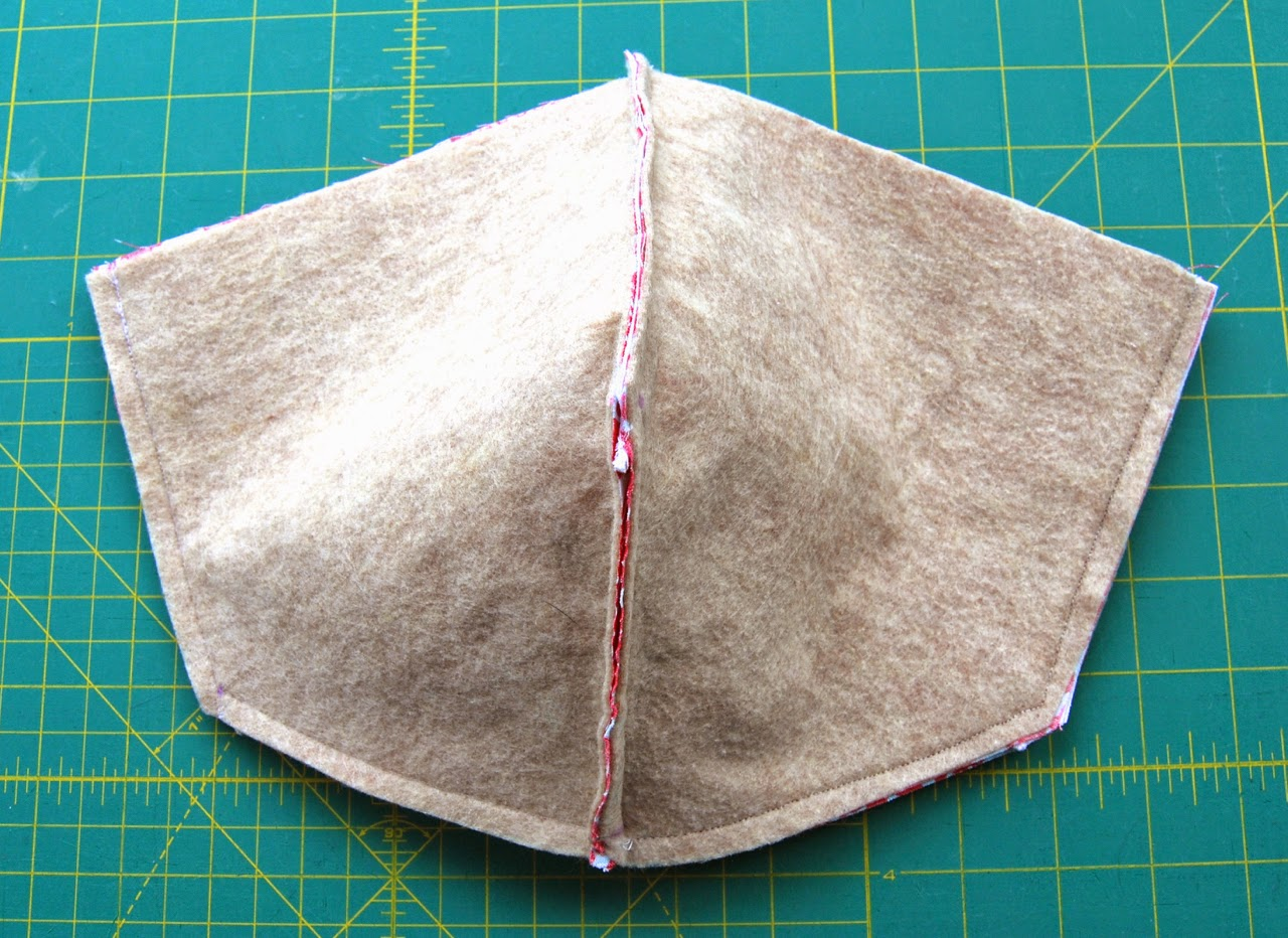 exterior sets sewn together