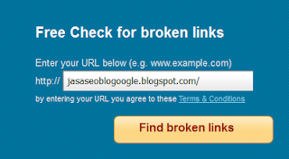 Broken Link Checker For Blogger