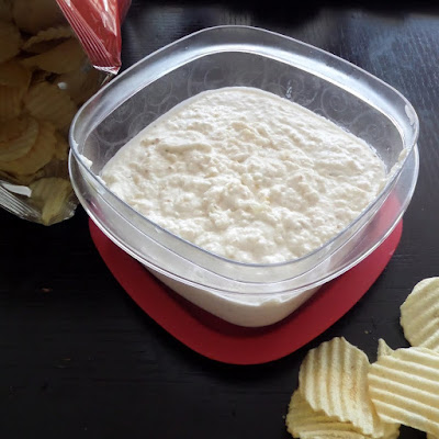 French Onion Dip:  A slightly beefy, very oniony, sour cream dip perfect for snacking.  Dad will love it.  It makes a great gameday snack too.