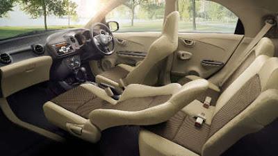 Interior Honda Brio Kursi