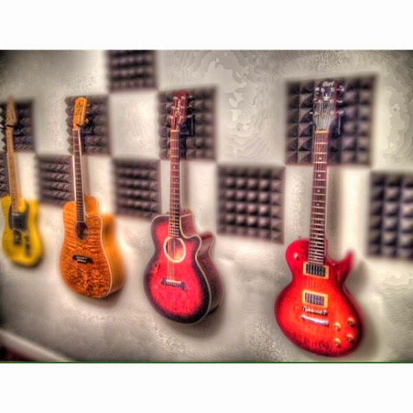 Home Studio Simplified: Old Guitars, New Life