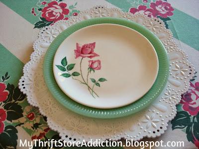 Romantic floral tablescape