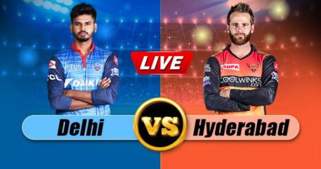 VIVO IPL 2019 Match 16 DC vs SRH Live Score and Full Scorecard