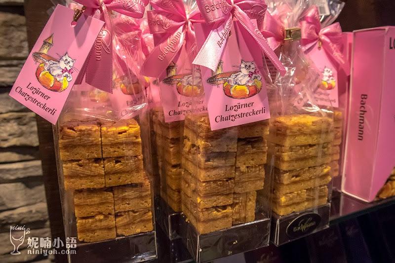 【瑞士琉森美食】Bachmann 點心坊。琉森必訪的百年巧克力店