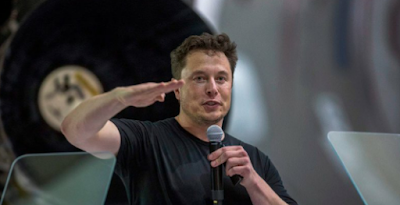 ايلون ماسك Elon Musk مؤسس شركة سبايس-اكس Space-X
