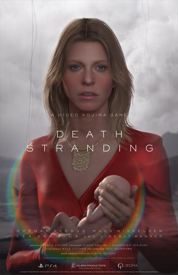 death stranding lindsay wagner poster