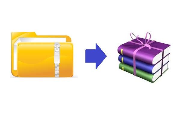 Cara Mudah Membuat File Folder Menjadi Rar Atau Zip Dengan Winrar