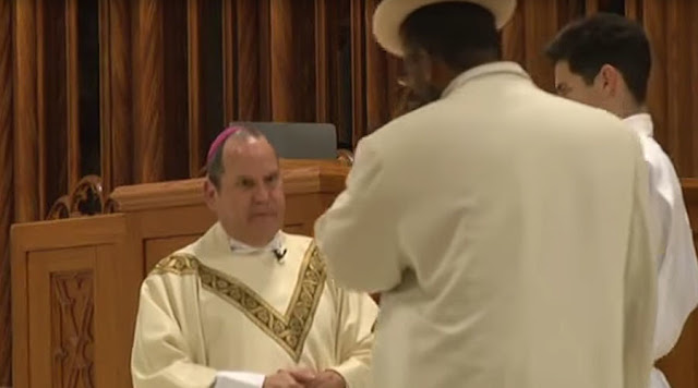 WATCH: New Jersey Bishop Punched And Assaulted By A Black Man During Mass