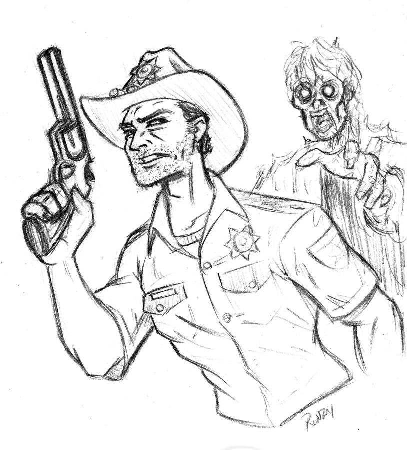Art Jumble Blog: Week 249: The Walking Dead