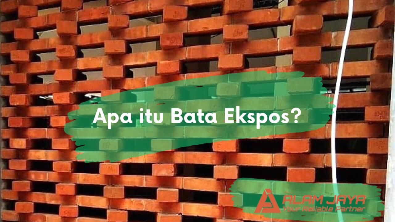 Jual Bata Press Exposed Harga Grosir ke Setialaksana Bekasi