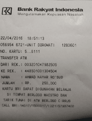 transaksi pembayaran 1