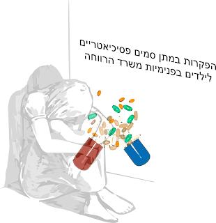 הפקרות במתן סמים פסיכיאטריים לילדים בפנימיות משרד הרווחה
