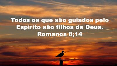 Todos os que são guiados pelo Espírito são filhos de Deus
