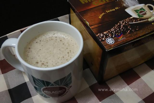 kopi, kopi herba patawali, kopi untuk kesihatan, milagro coffee,