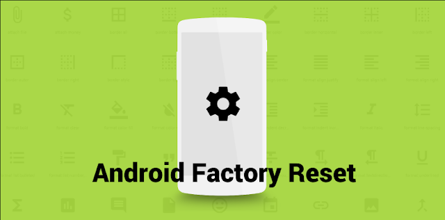 Cara Mengatasi Lupa Pola Android dengan Factory Reset