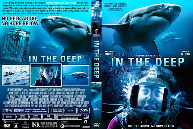 In The Deep (47 Meters Down) DVD Cover