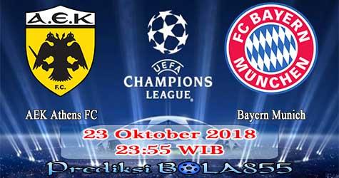 Prediksi Bola855 AEK Athens FC vs Bayern Munich 23 Oktober 2018
