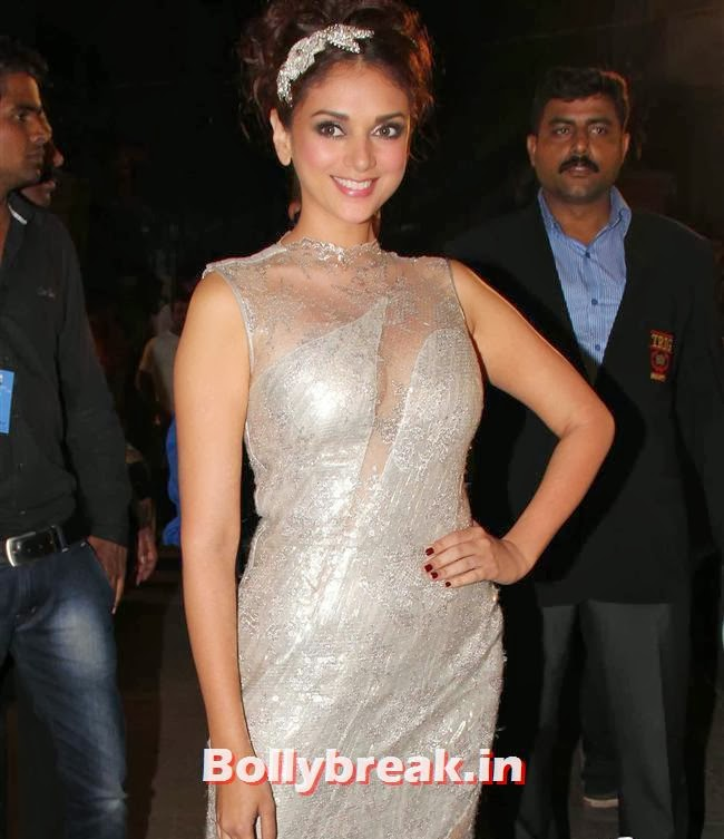 Aditi Rao, Filmfare Awards 2014 Red carpet Images