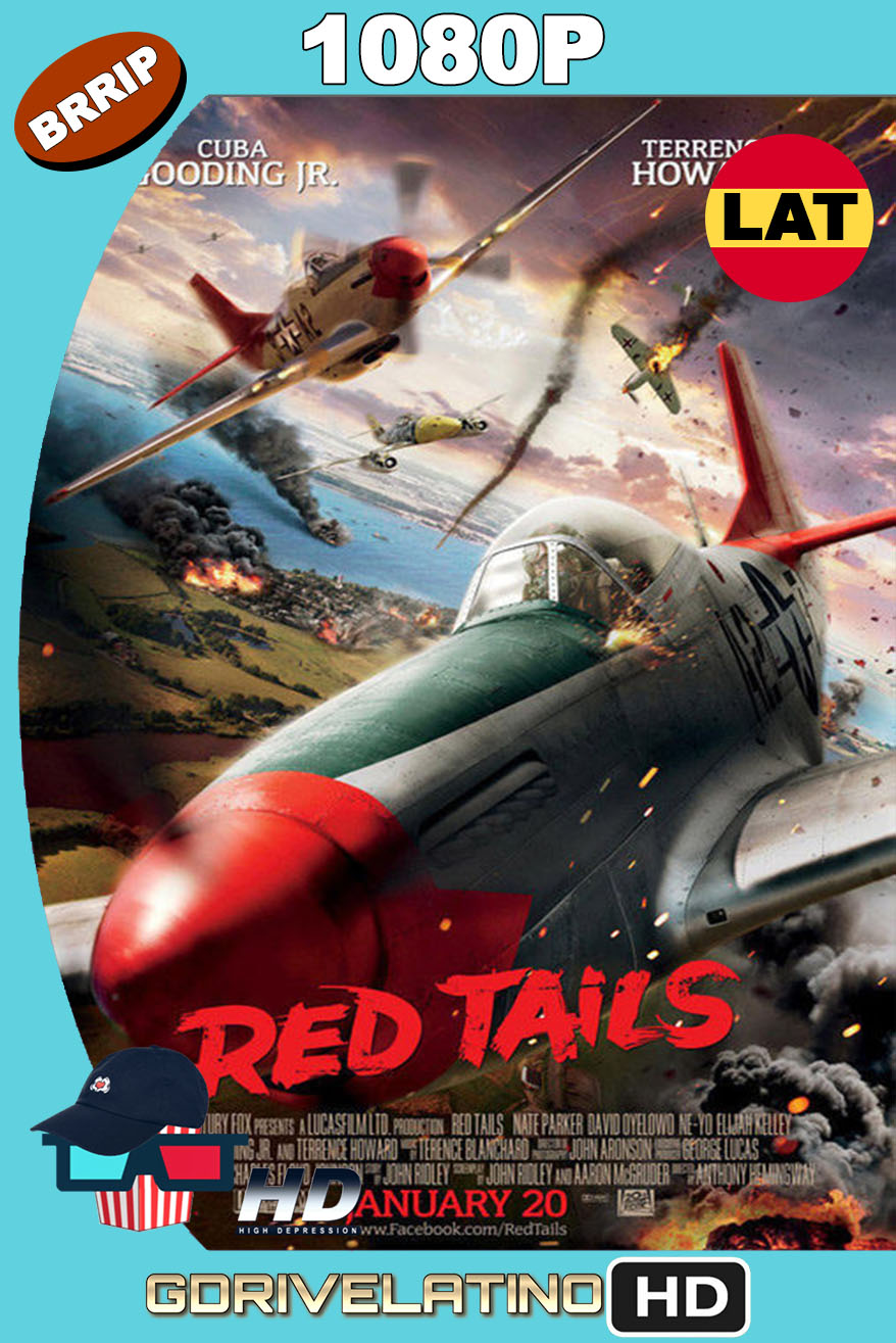 Red Tails (2012) BRRip 1080p Latino-Inglés MKV