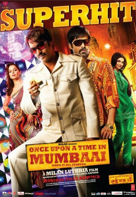 Once Upon a Time in Mumbai 2010 Hindi 720p BluRay 1GB
