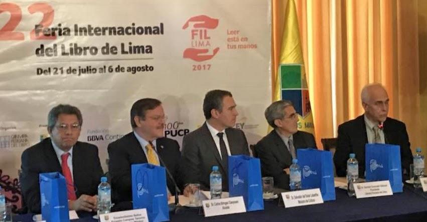 FIL LIMA 2017: Una fiesta de la literatura se avecina con más de 70 invitados