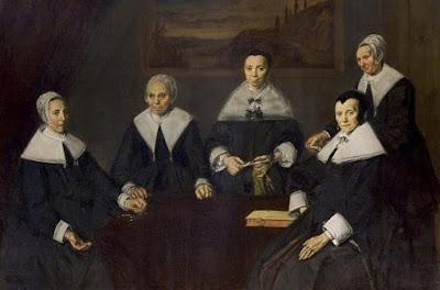 Frans Hals: Regentas del asilo de ancianos indigentes