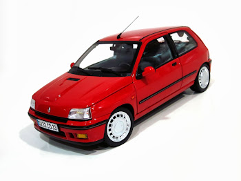 Renault Clio 16s Phase I '91 Norev