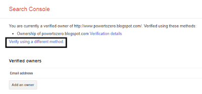 verifikasi blog di webmaster