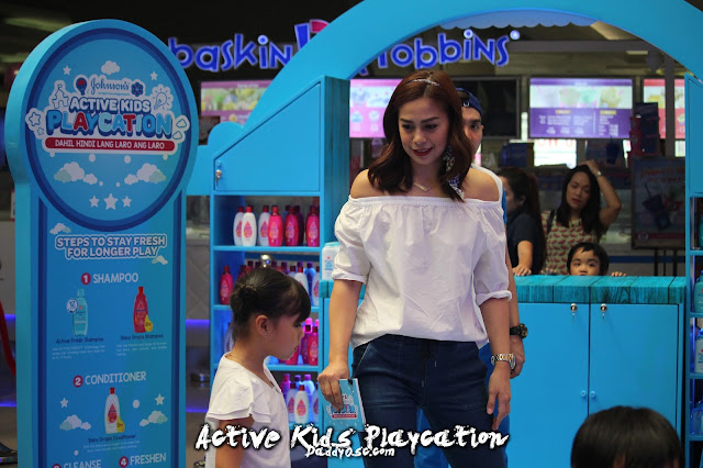 Active Kids Playcation with Ms. Bettina Carlos and daughter Gummy