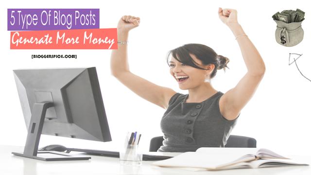 Blog posts that makes money