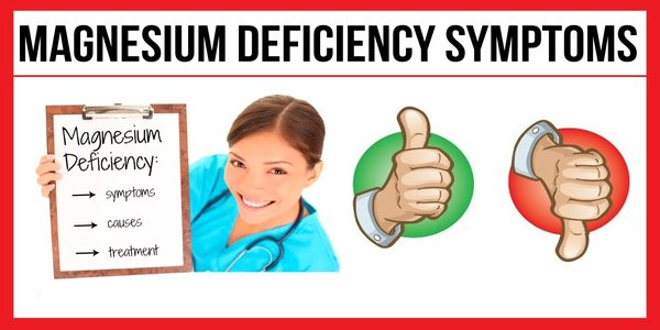 16 Magnesium Deficiency Symptoms – Signs of Low Magnesium Levels