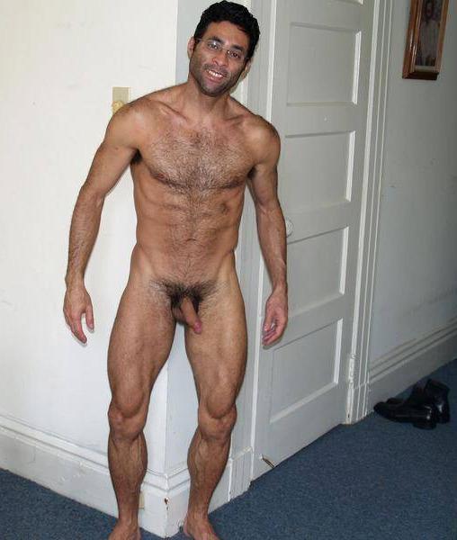 Hairy middle eastern arab men