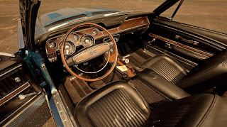 1968 Ford Mustang Shelby GT500KR Convertible Interior