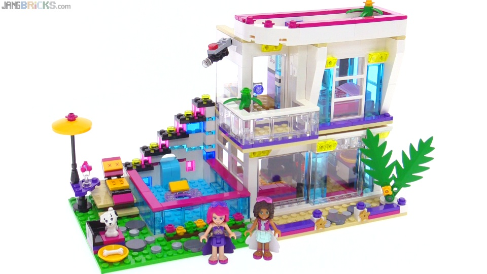lego friends livi 39 s pop star house review 41135. Black Bedroom Furniture Sets. Home Design Ideas