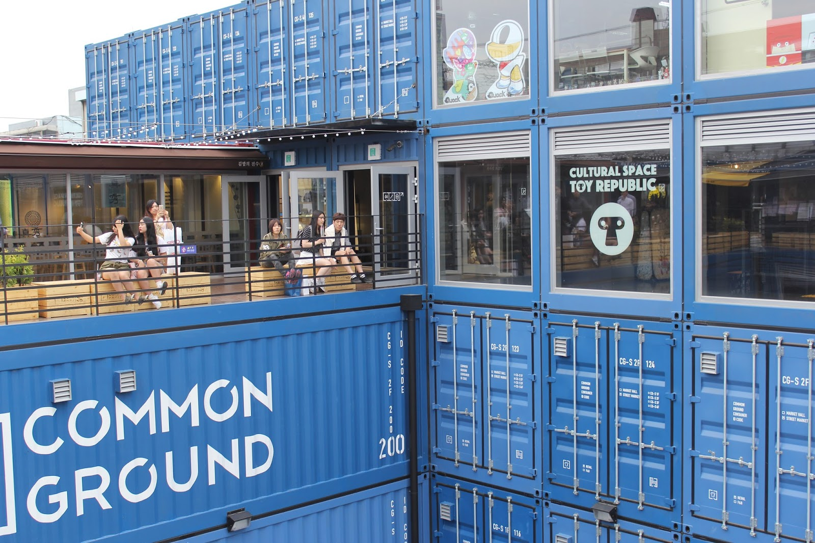 Common Ground, Pop-Up container Mall in Seoul, New Attempt ...