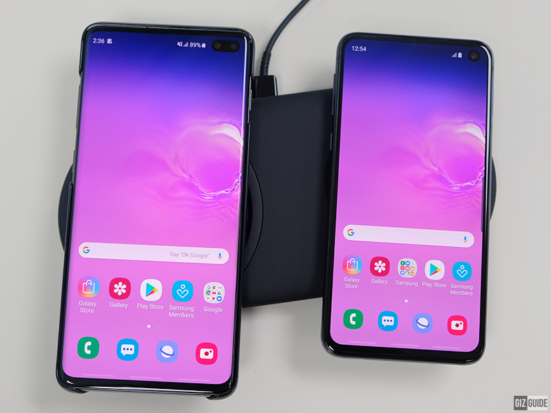 S10+ and S10