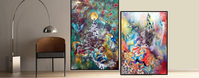 Annapia Sogliani https://www.latelierdannapia.com #artdeco#art#deco#design#interiordesign#painting#contemporaryart#emergingartist#homedecor#inspiration#decorazioneinterni#artcontemporain#figurativeart#onirique#acrilic#tableau#decorationinterieur#illustration#peinture#chagall#musique#music#artgalleryry#affordableart#surrealism#reve#sogno#musica#illustrazione#artecontemporanea