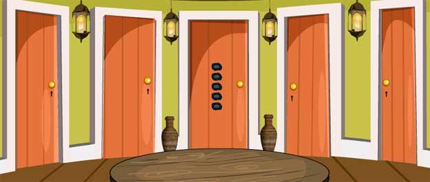Juegos de escape - Genie 5 Door Escape