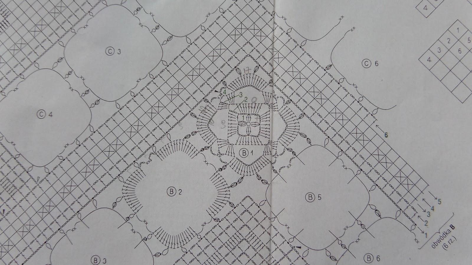 Ergahandmade Crochet Doily Diagrams